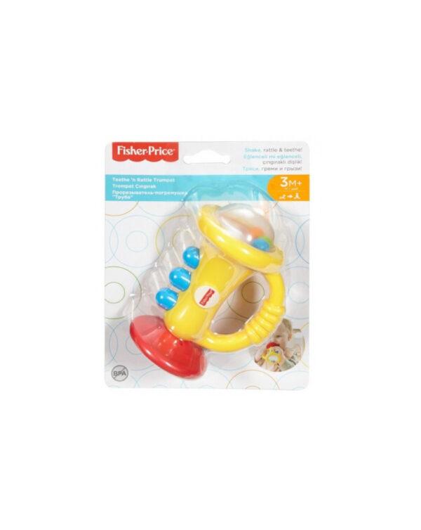 FISHER PRICE - Sonaglini  Musicali per Bambini 3+Mesi - Mattel