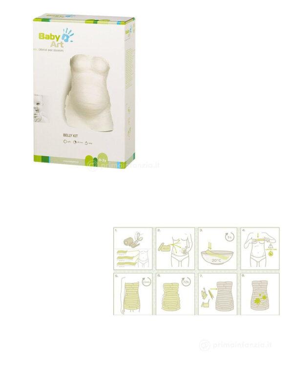 Kit per il calco del pancione - Baby Art
