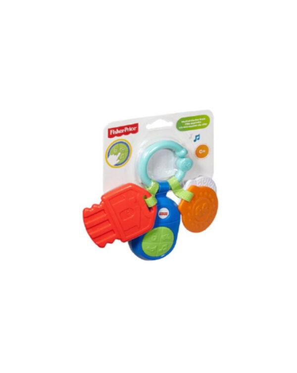 FISHER PRICE - Sonaglini Musicali Multicolore - Mattel