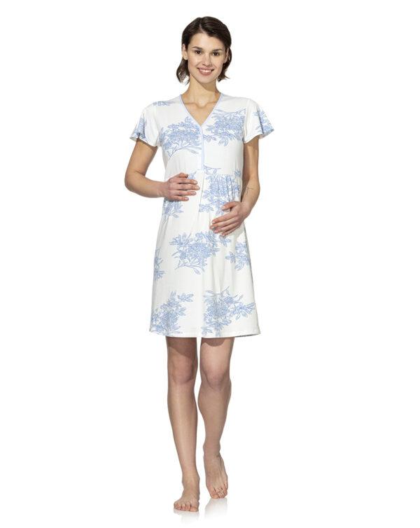 Camicia da notte con stampa fiorata - Prénatal