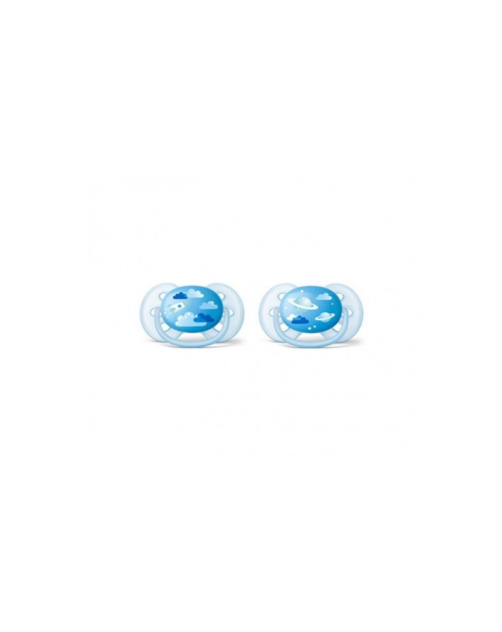 Succhietti ultrasoft universe 0-6 mesi 2 pezzi avent - Avent