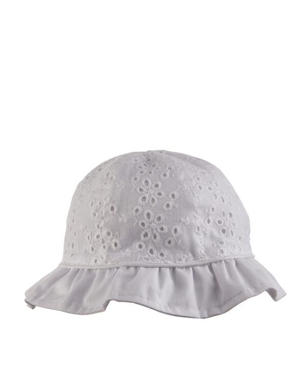 Cappello in sangallo - Prenatal 2