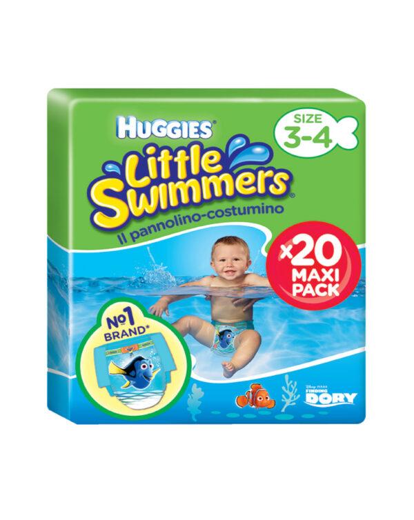 Huggies - Pannolino-costumino Little Swimmers tg. 3-4 (12 pz) - Huggies