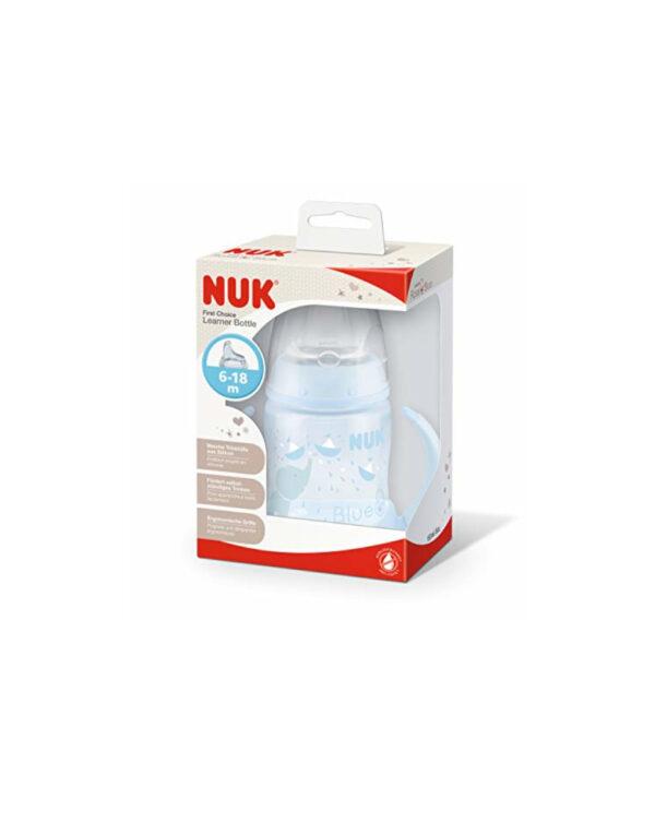 Biberon  150 ml silicone blu - Nuk