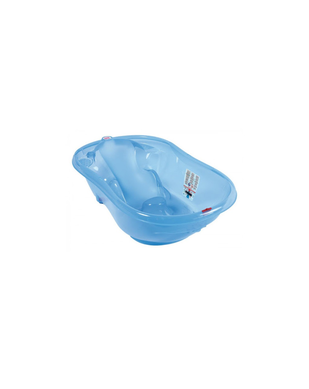 Onda vaschetta blu trasparente - Okbaby