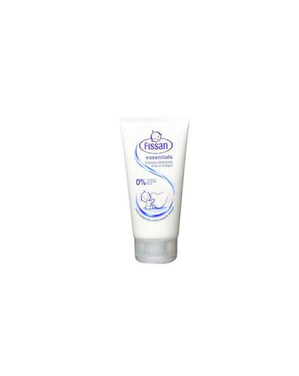 Crema idratante viso e corpo essentials 150ml - Fissan