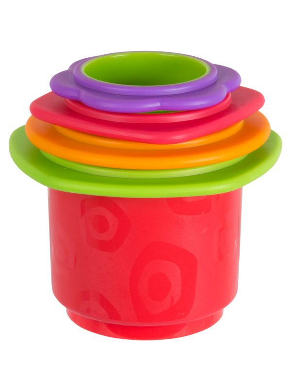 PLAYGRO - Chewy Stack and Nest Cups - Playgro