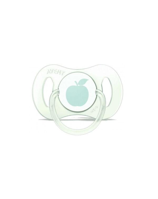 Succhietto mini mela 0-2 mesi avent - Avent