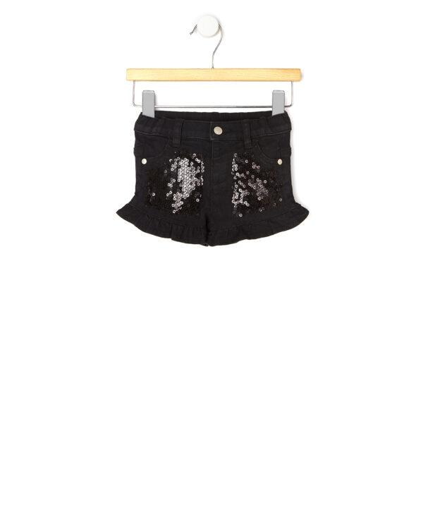 Pantaloncini neri con paillettes - Prénatal