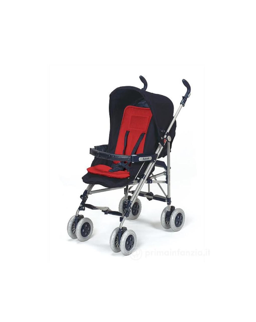 Materassino per passeggino rosso - Baby's Clan