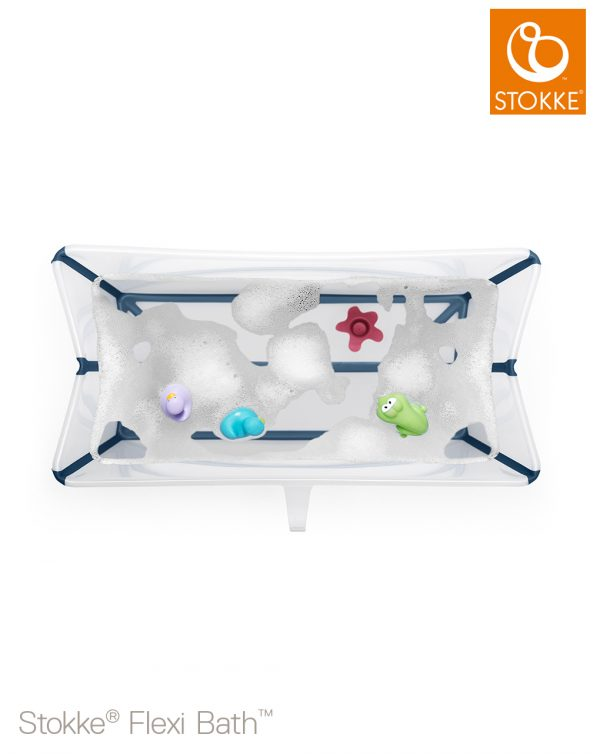 Stokke® Flexi Bath® - Trasparent Blue - Stokke