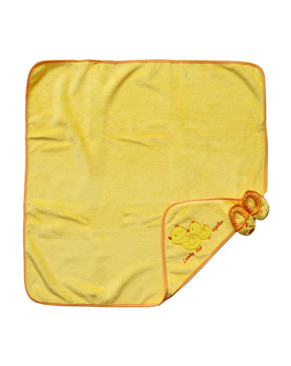 Accappatoio in spugna pulcino con ciabattina - Prénatal