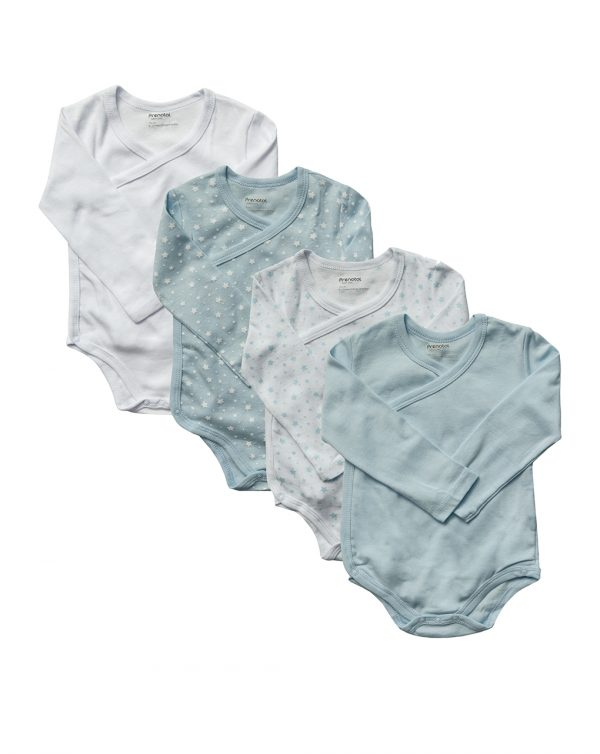 Pack x5 body manica lunga boy - Prenatal 2