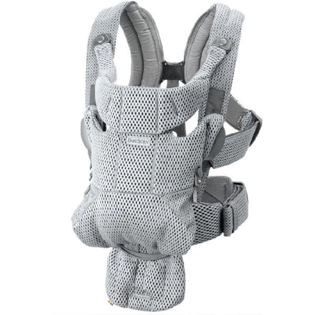 Marsupio babybiorn baby carrier move grey 3d mesh - Baby Bjorn