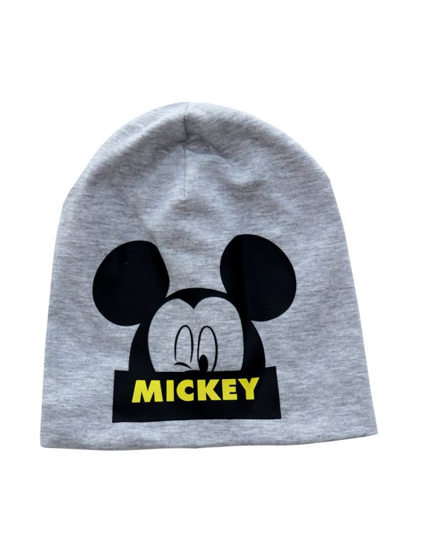 Cappello jersey con stampa Mickey Mouse - Prénatal