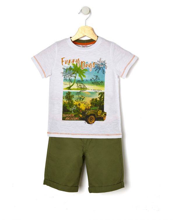 Completo t-shirt e pantaloncino - Prenatal 2