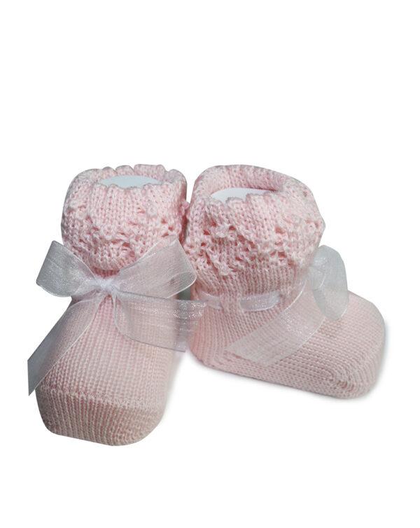 Calzine tricot lana effetto scarpa - Prénatal