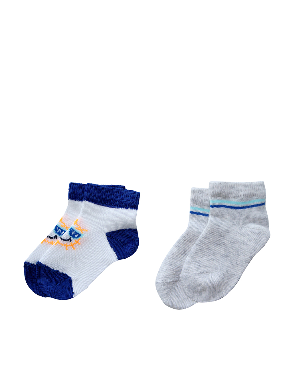 Pack x2 calze corte in cotone - Prénatal