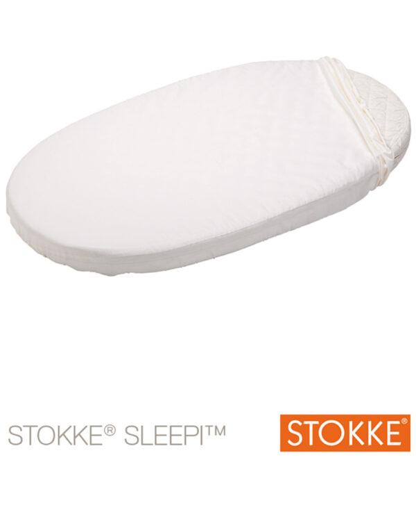 Stokke® Sleepi™ Junior lenzuolo sotto bianco - Stokke