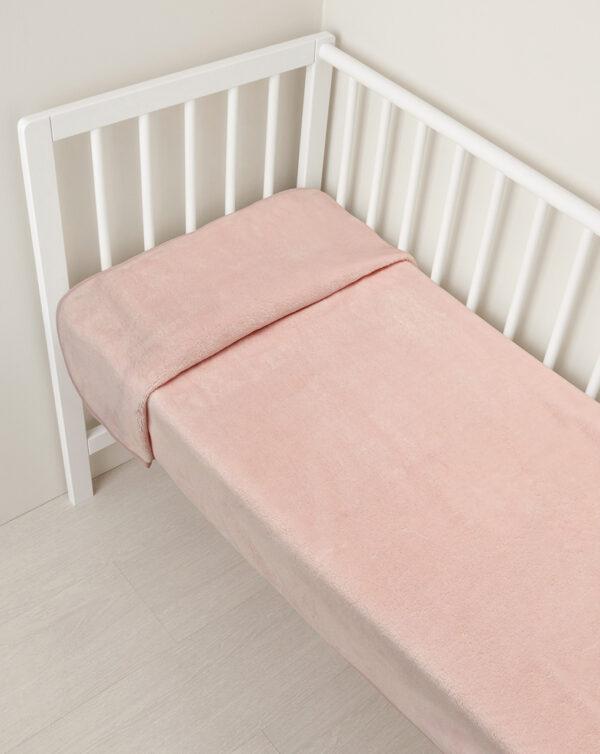 Copertina pile rosa con patch unicorno - Prenatal 2