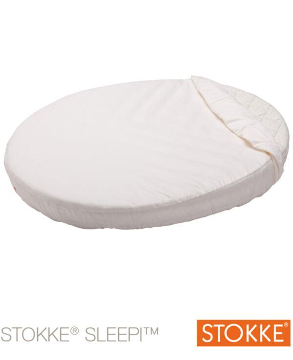 Stokke® Sleepi™ Mini Lenzuolo sotto bianco - Stokke