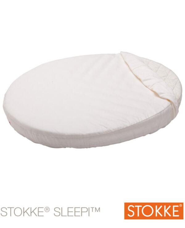 Stokke® Sleepi™ Baby lenzuolo sotto bianco - Stokke
