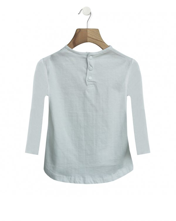T-shirt bianca con stampa farfalla - Prénatal