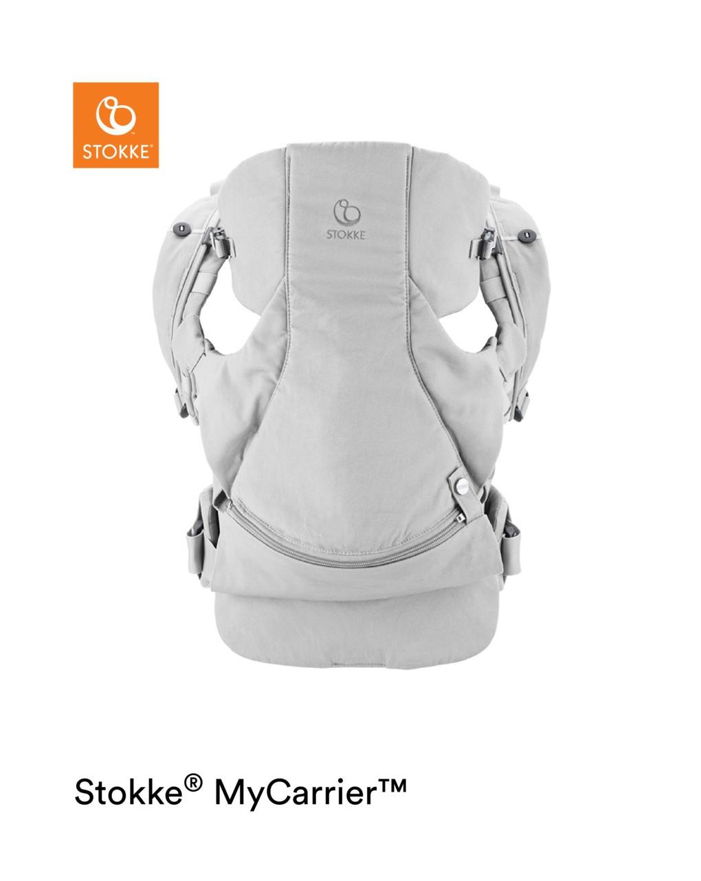 Stokke® mycarrier™ marsupio anteriore e posteriore grey - Stokke