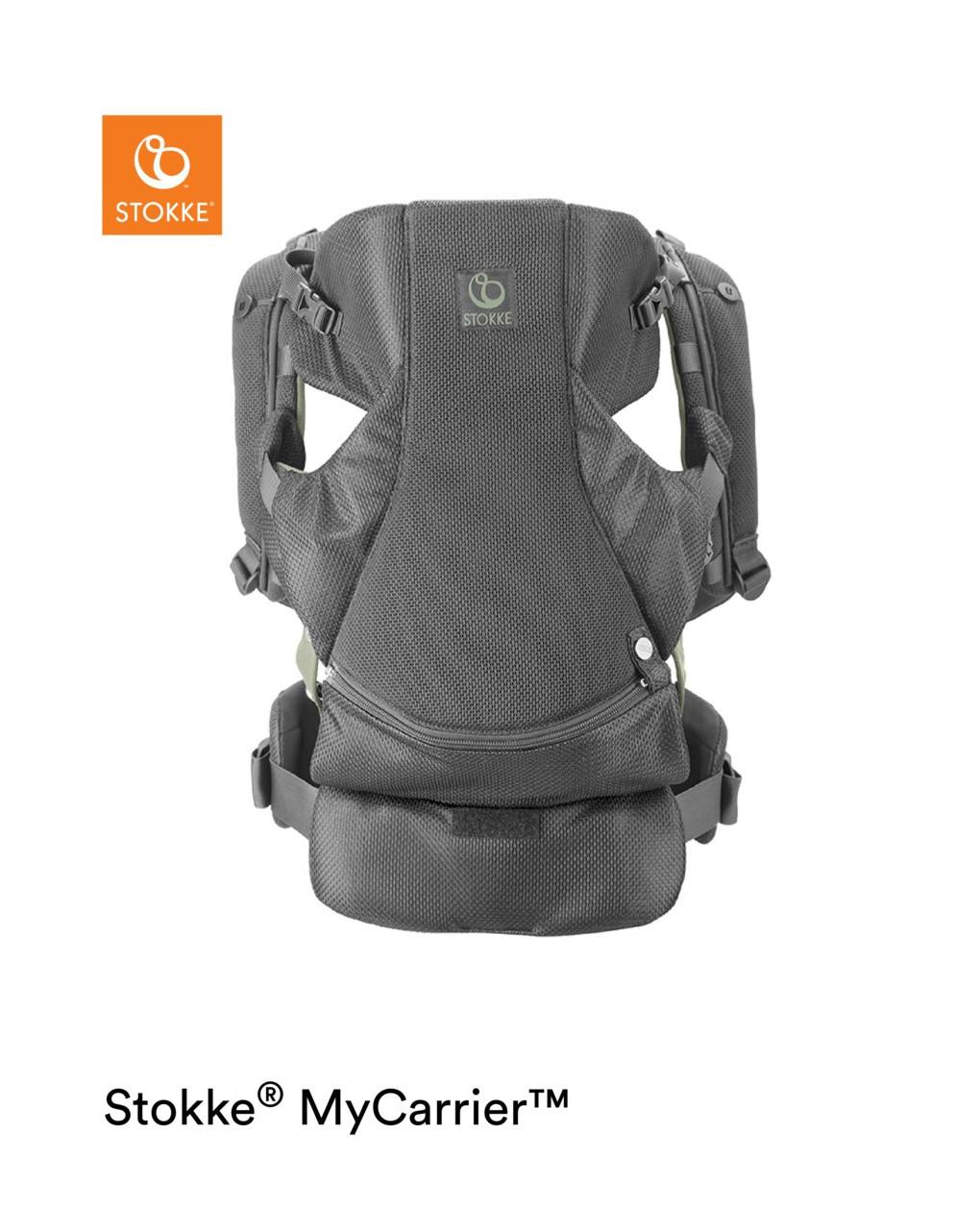 Marsupio anteriore stokke® mycarrier™ green mesh - Stokke
