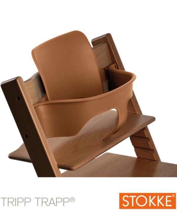 Stokke® Baby Set per Tripp Trapp® – Walnut Brown - Stokke