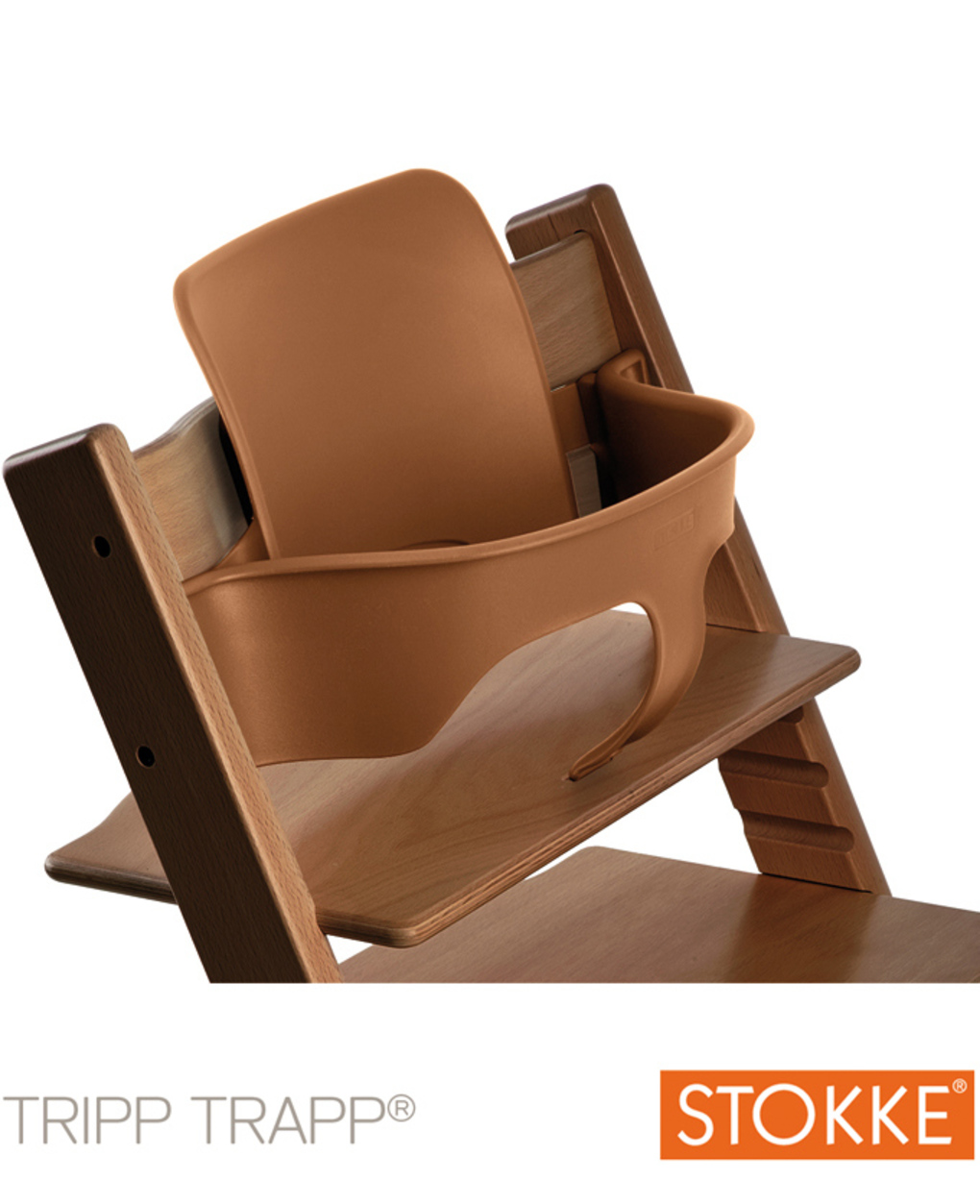 Stokke® baby set per tripp trapp® – walnut brown - Stokke
