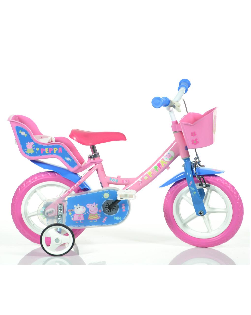 Bici 12'' peppa pig - Dinobikes