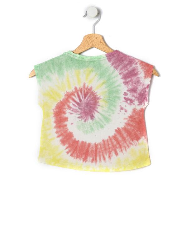 T-shirt in jersey con tintura a riserva - Prénatal