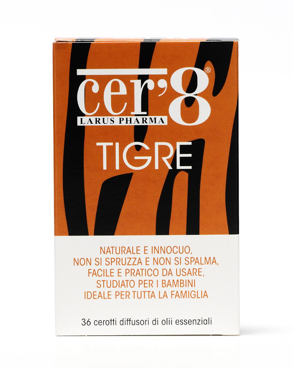 Cer'8 tigre cuscinetti diffusori 36 pezzi - Cer'8