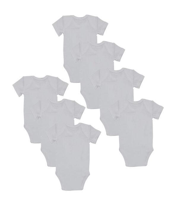 Pack 7 body bianchi con stampa giorni settimana - Prénatal