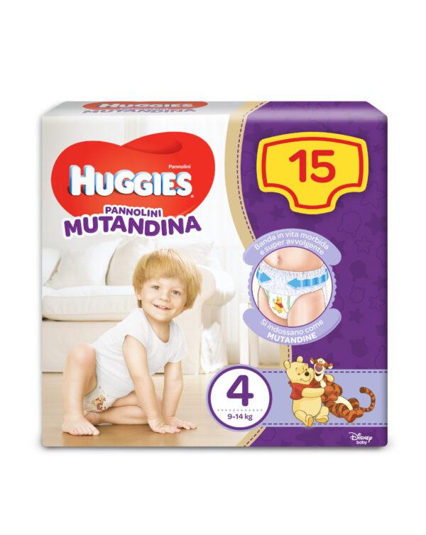 Pannolini Mutandina tg. 4 (15 pz) - Huggies