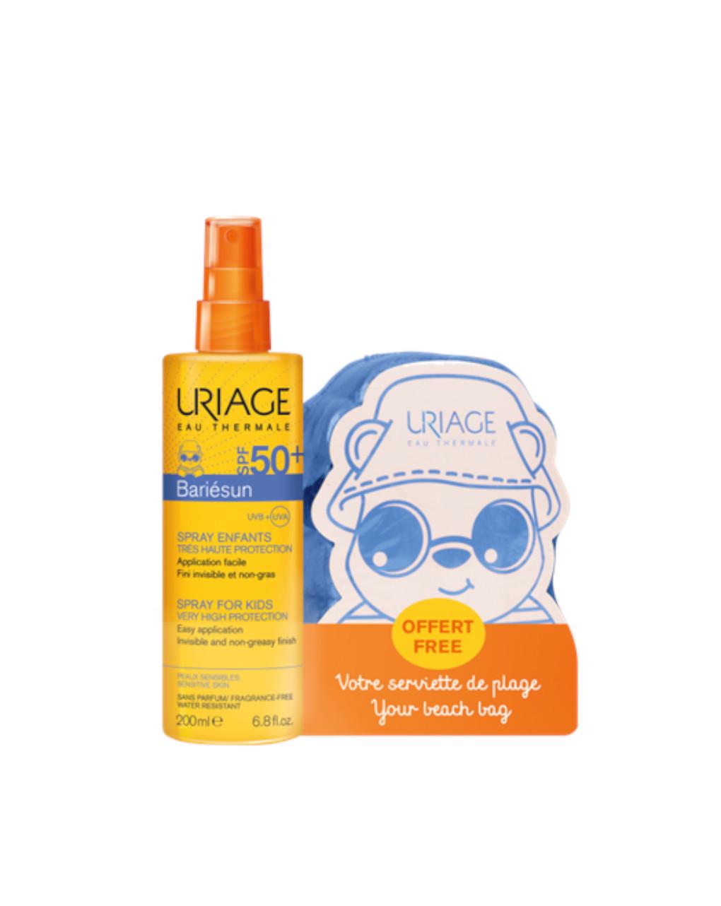 Bariesun spray solare spf50+ 200 ml + telo - Uriage