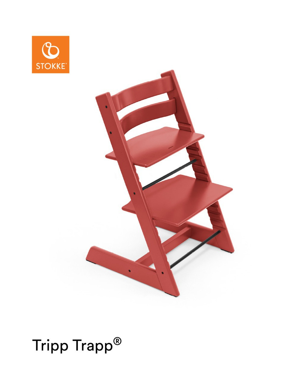 Tripp trapp® – warm red - Stokke