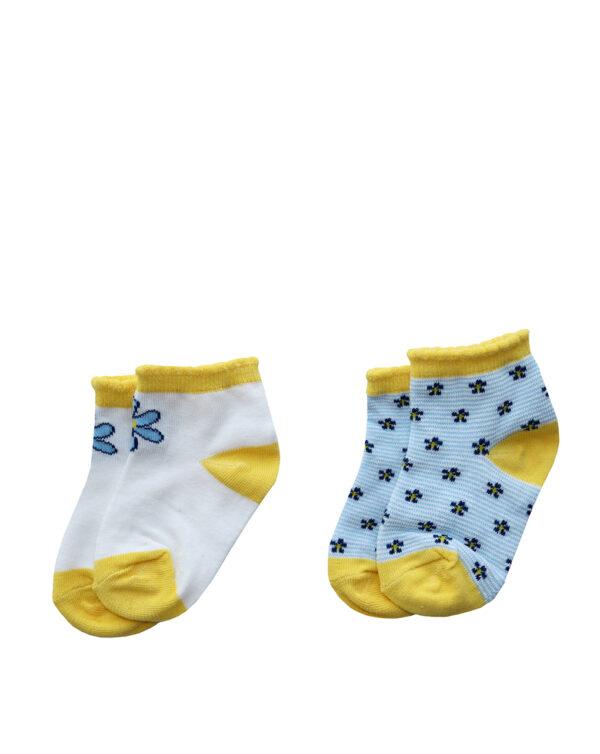Pack x2 calze corte in cotone - Prenatal 2