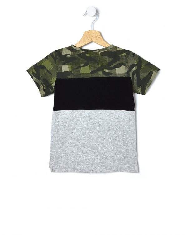 T-shirt multicolor con stampa - Prénatal