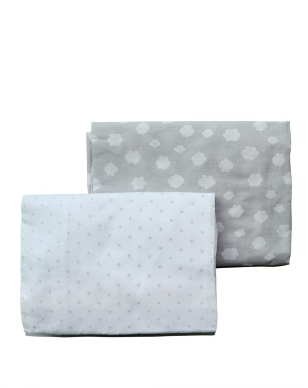 LETTO - Pack 2 pezzi lenzuola con angoli - Prénatal