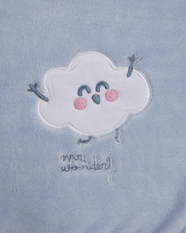Copertina pile con patch nuvola - Prénatal