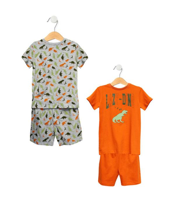 Paxk 2 pigiami con stampa dinosauri - Prenatal 2