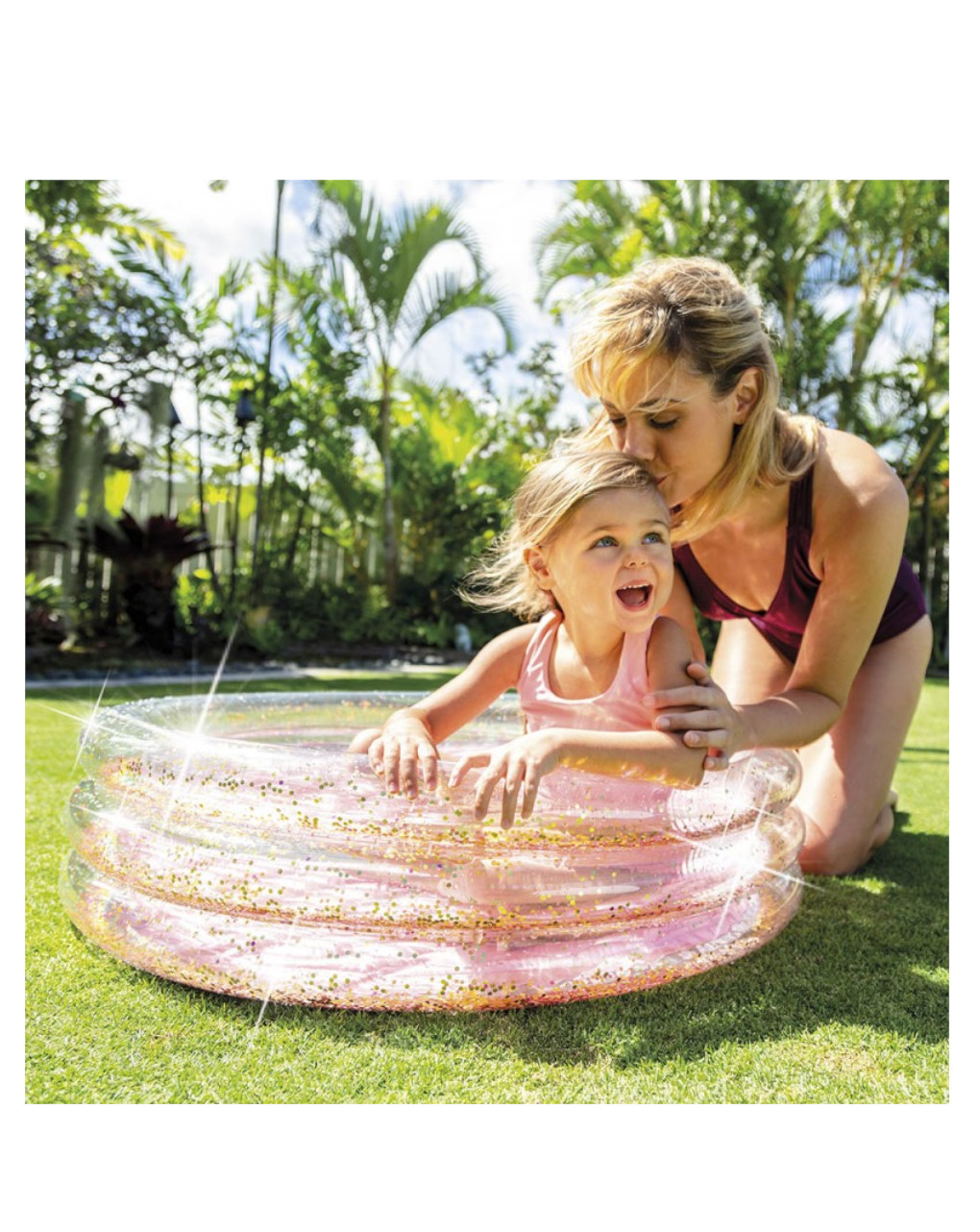 Intex - piscina baby glitter 86x25 cm - Intex