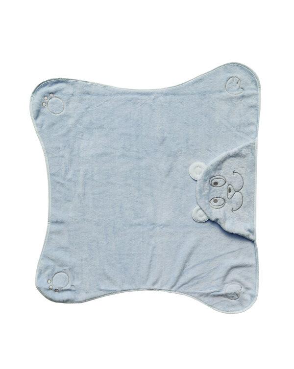 Accappatoio per neonato con orsetto - Prénatal