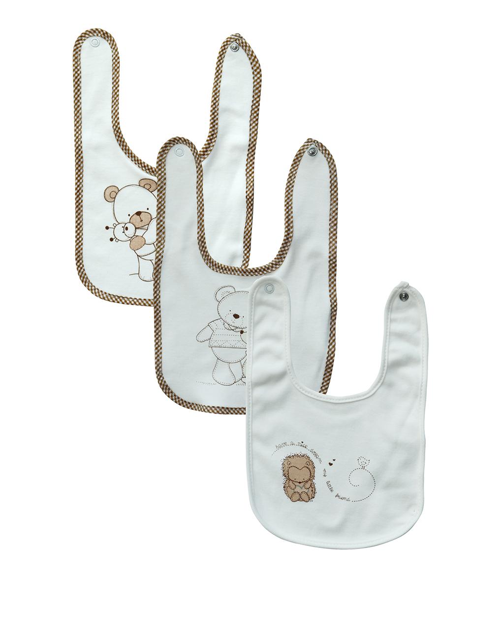 Pack x5 bavaglini interlock - Prénatal