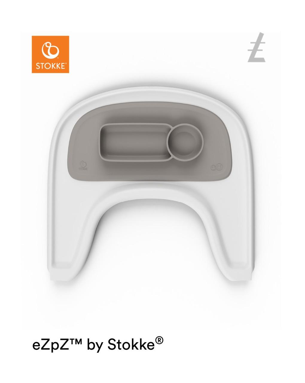 Ezpz™ by stokke™ tovaglietta per vassoio stokke®  - soft grey - Stokke