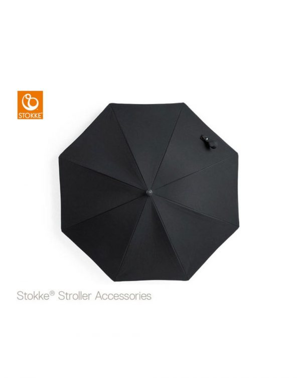 Stokke® Passeggino Ombrellino Parasole - Black - Stokke