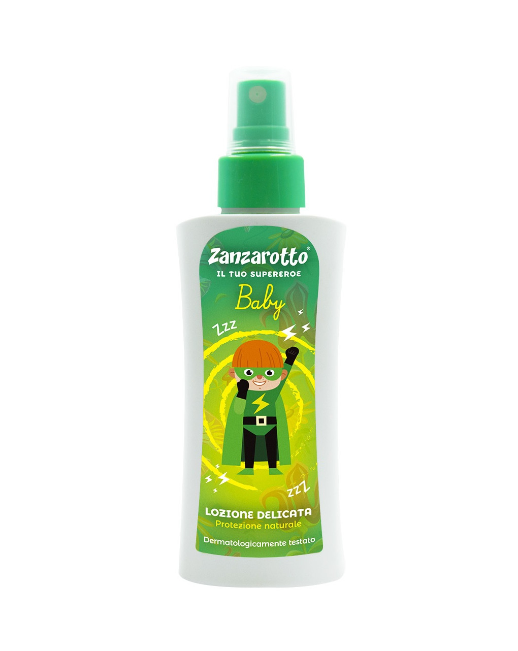 Zanzarotto spray lozione delicata 100ml - Zanzarotto