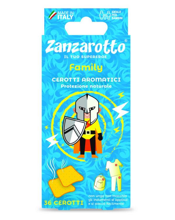 Cerotto aromatico Prevenzione 36 pezzi - Zanzarotto